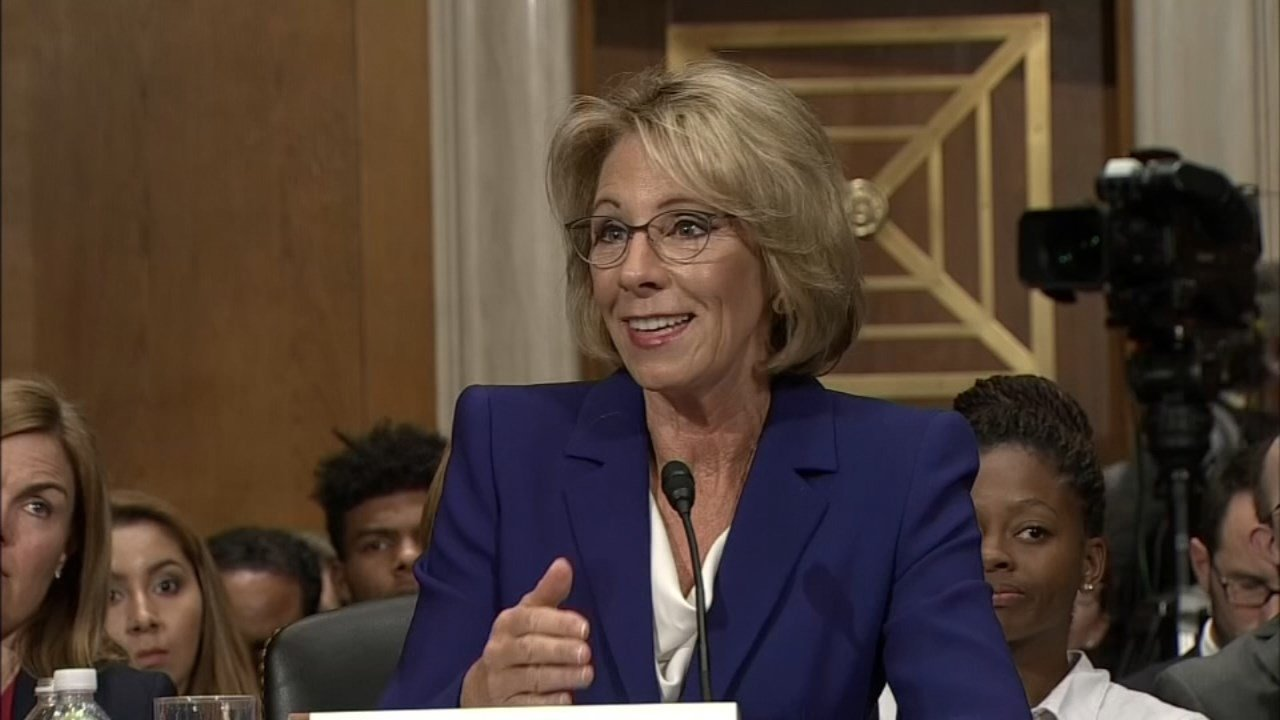 Secretary of Education, Betsy DeVos