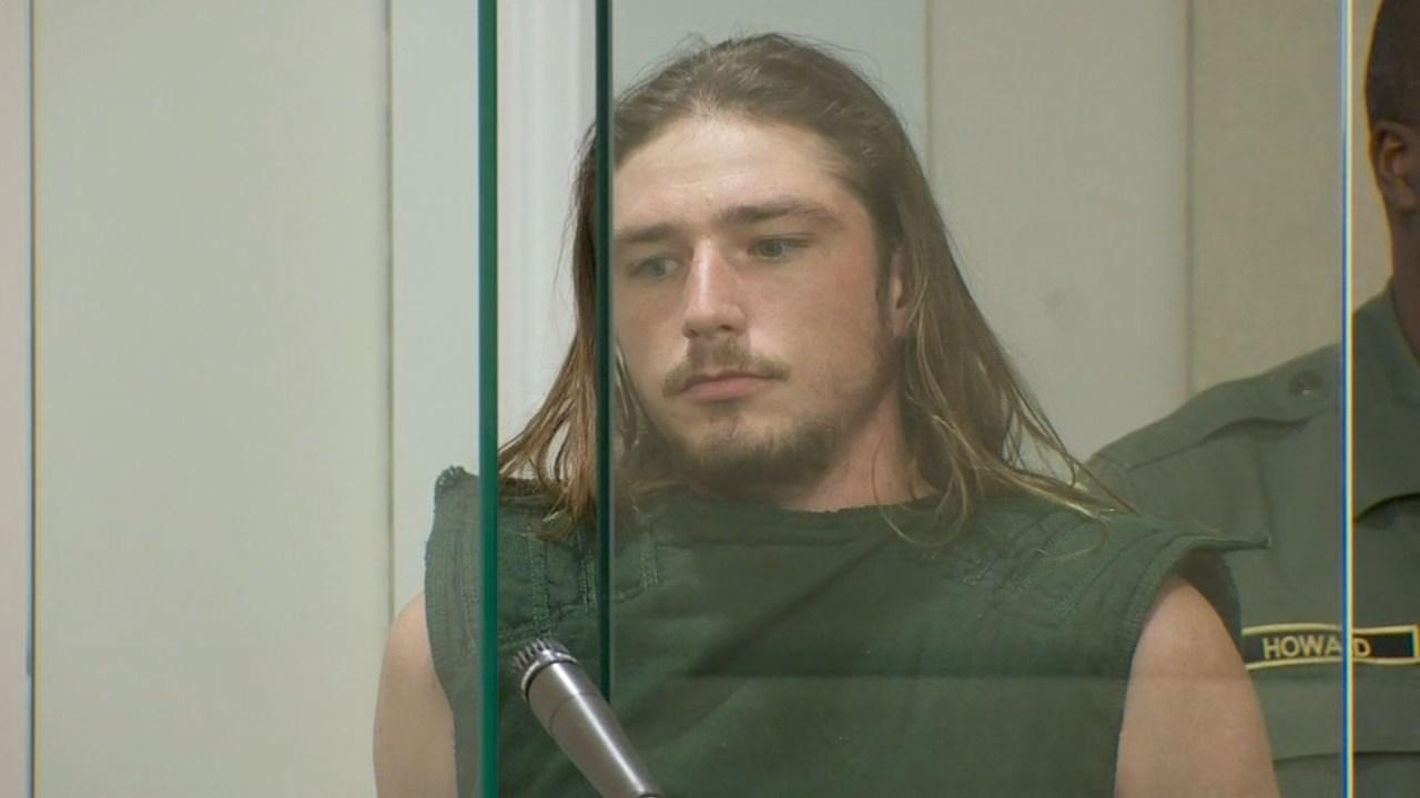 Kurtin Linn in court Monday. (KPTV)