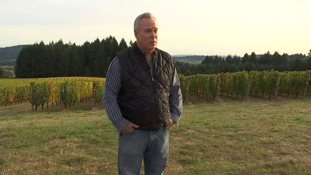 Utopia Vineyards owner Daniel Warnshuis (KPTV)