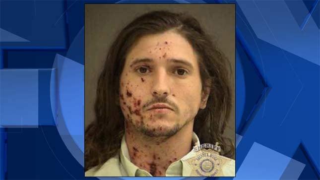 Jason Schaefer, jail booking photo