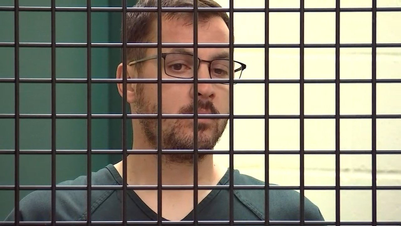 Christopher James Bleavins in court Tuesday. (KPTV)