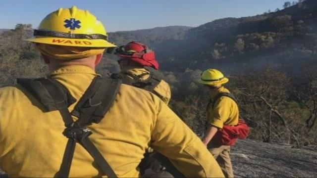 Some Oregon firefighters to return home from California fire lines