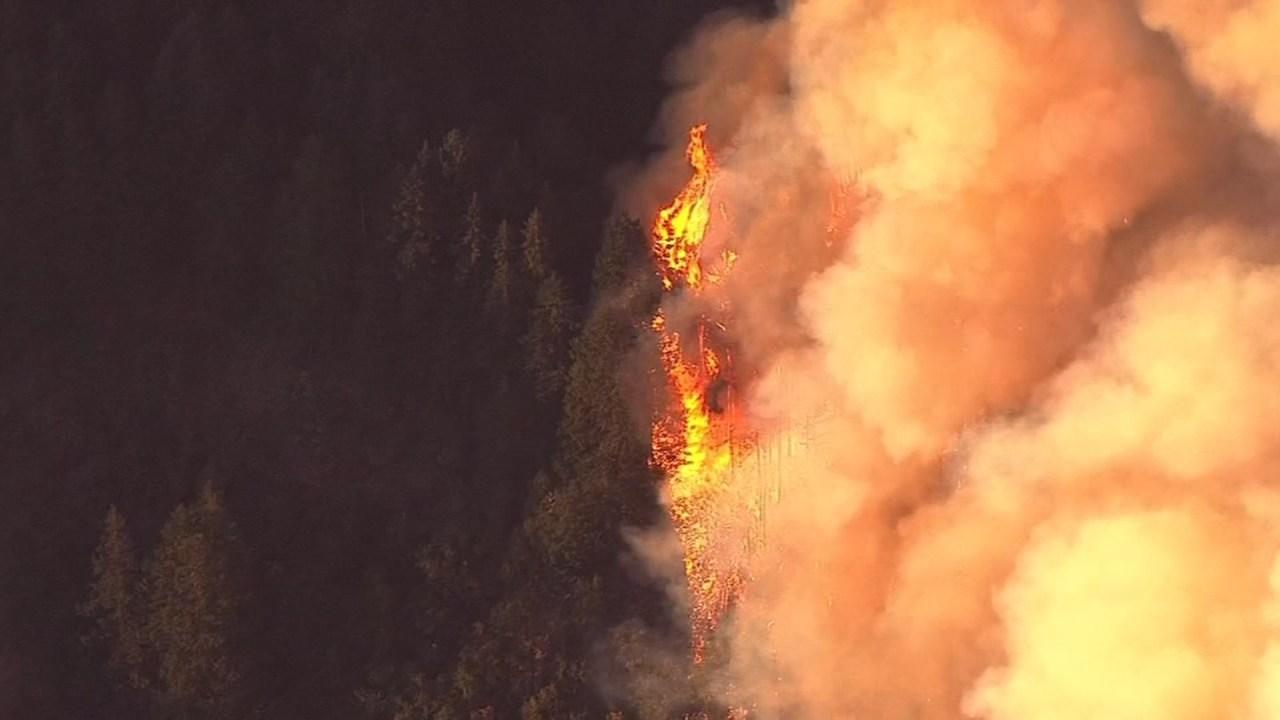 Eagle Creek Fire  (KPTV/Air 12 file image)
