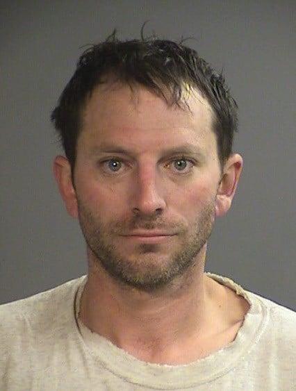 Christopher David Grindstaff, jail booking photo