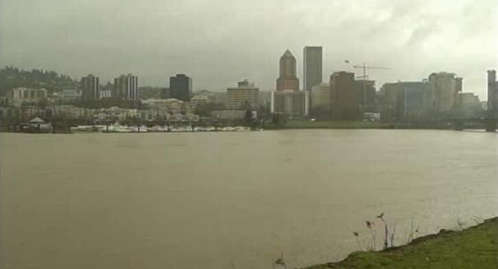 Willamette River, KPTV file image