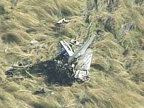 a small plane crash near camas