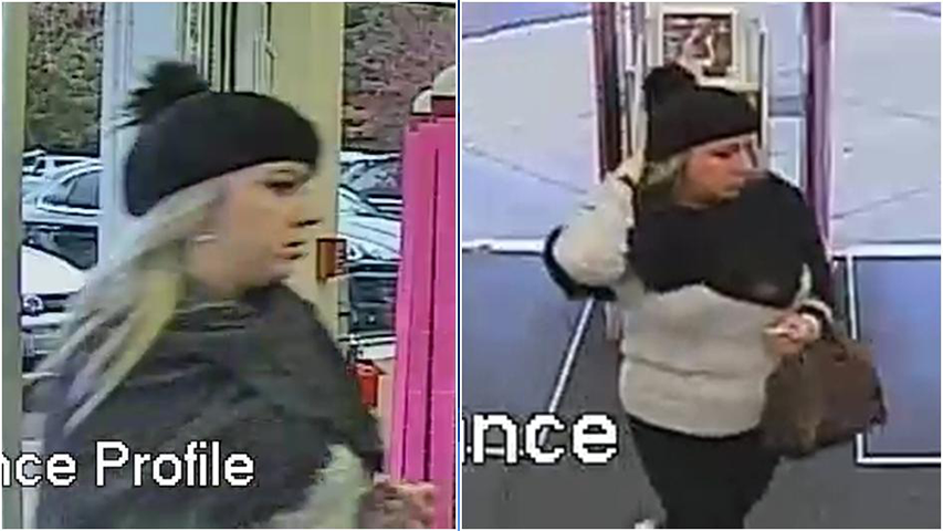 Surveillance images of the suspect (Courtesy: Tualatin Police Department)