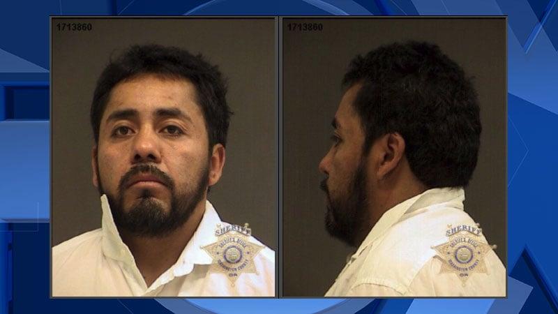 Francisco Rodriguez-Estrada booking photo (Washington Co. Jail)