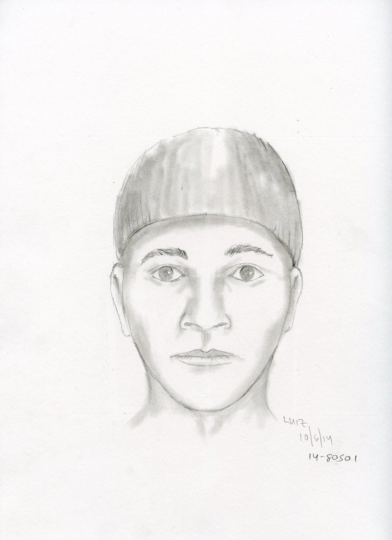 Police released this sketch of the suspect in the 2014 killing of Michael William Olson. (Portland Police Bureau)