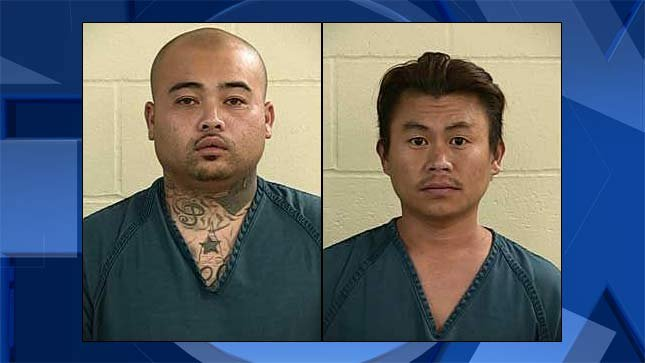 Pandy Hout, Lor Meng, jail booking photos