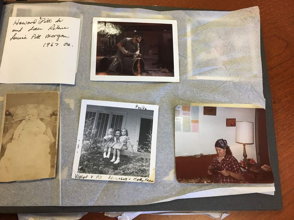 Photo album found by Vancouver Police Department.