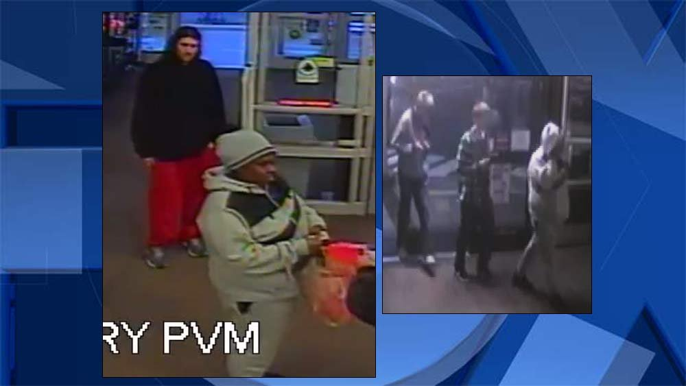 Surveillance images released by Scappoose Police Department.