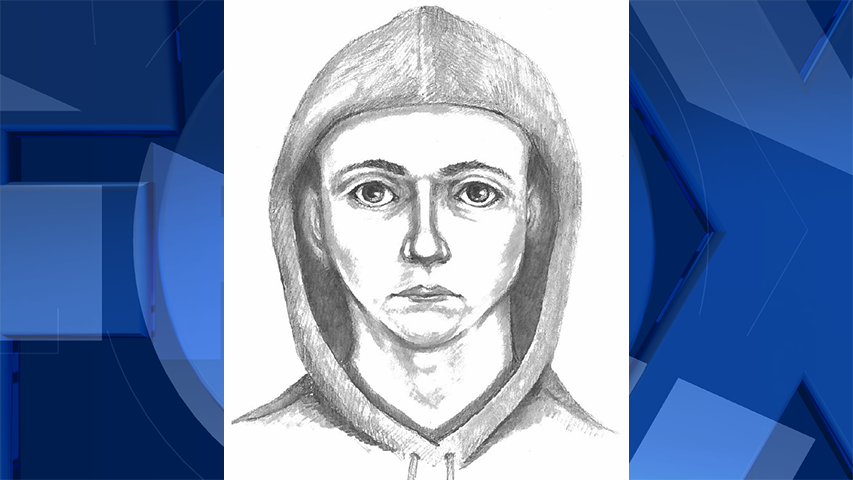 Sketch of the suspect based on the homeowner's description. (Courtesy: Benton County Sheriff's Office)