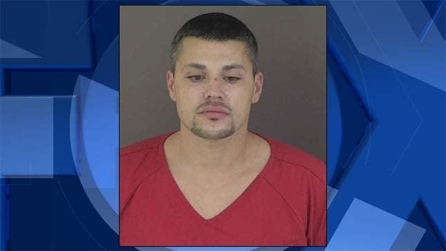 Sanchez Angelo Jr., jail booking photo