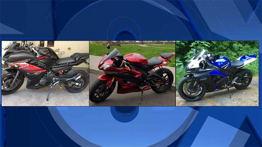Stolen motorcycles (Photos: Corvallis PD)