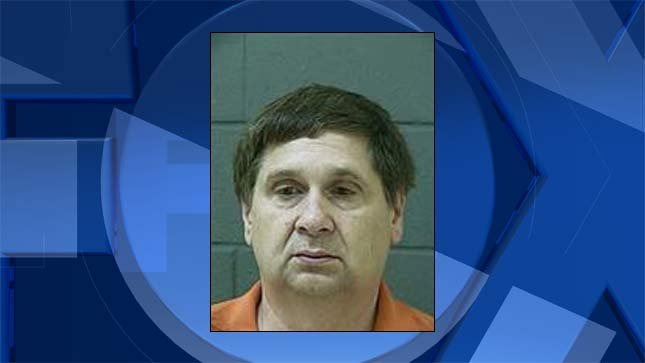 William Frank Osborne, jail booking photo