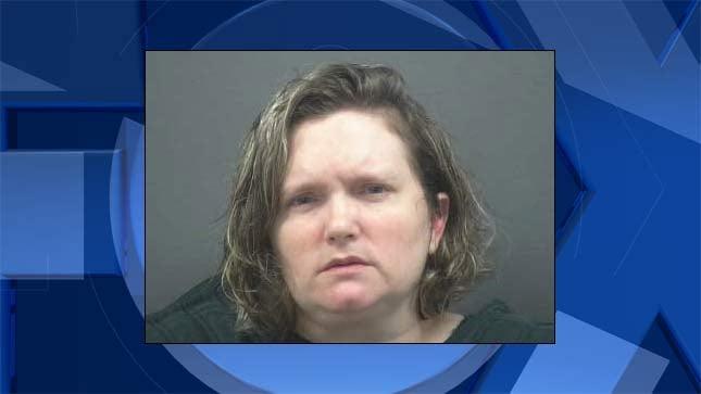 Rebecca Joanne Sinclair, jail booking photo