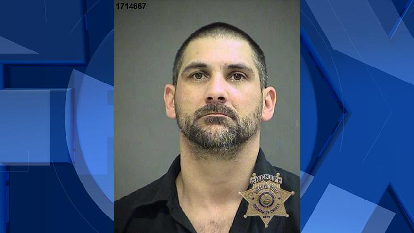 Chad Brandon Pitcher, jail booking photo (Courtesy Washington County Jail)