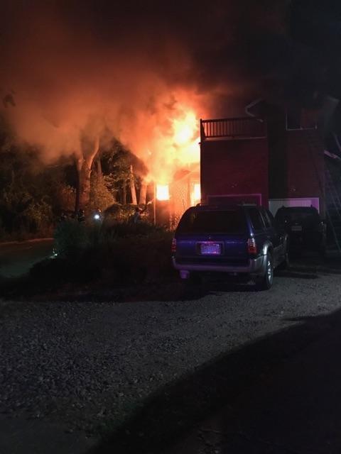 Happy Valley house fire in September. (KPTV)