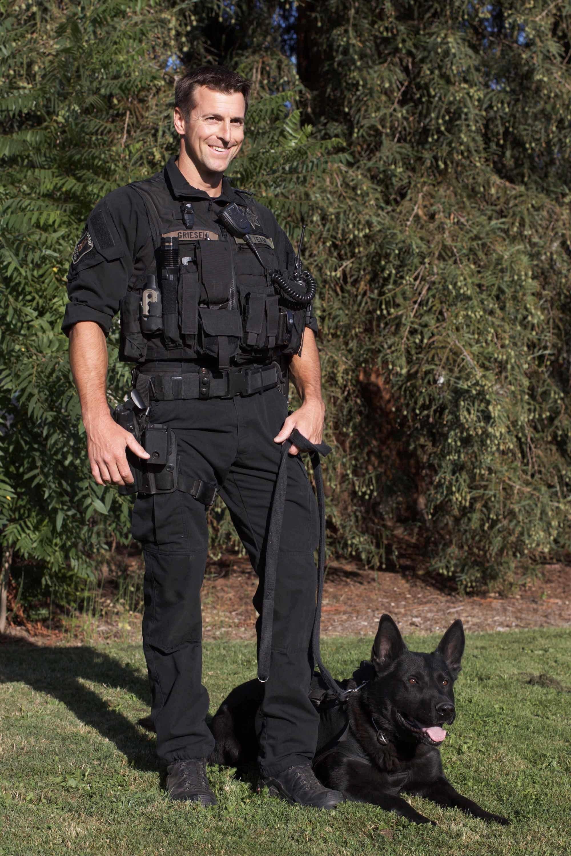 K9 Blek (Courtesy: Eugene Police)