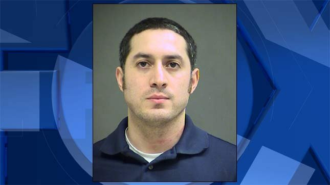 Joseph Quijada, jail booking photo