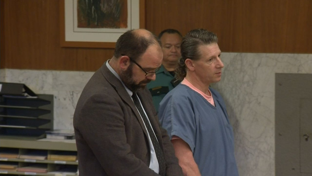 George Tschaggeny in court Tuesday. (KPTV)