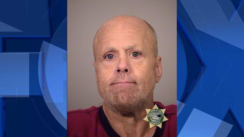 Shawn Kevin McGinnis, jail booking photo (Portland Police Bureau)