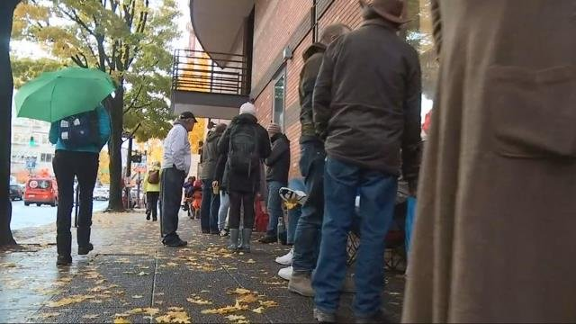 People in Portland wait in line and online for hottest ticket in town to see 'Hamilton'
