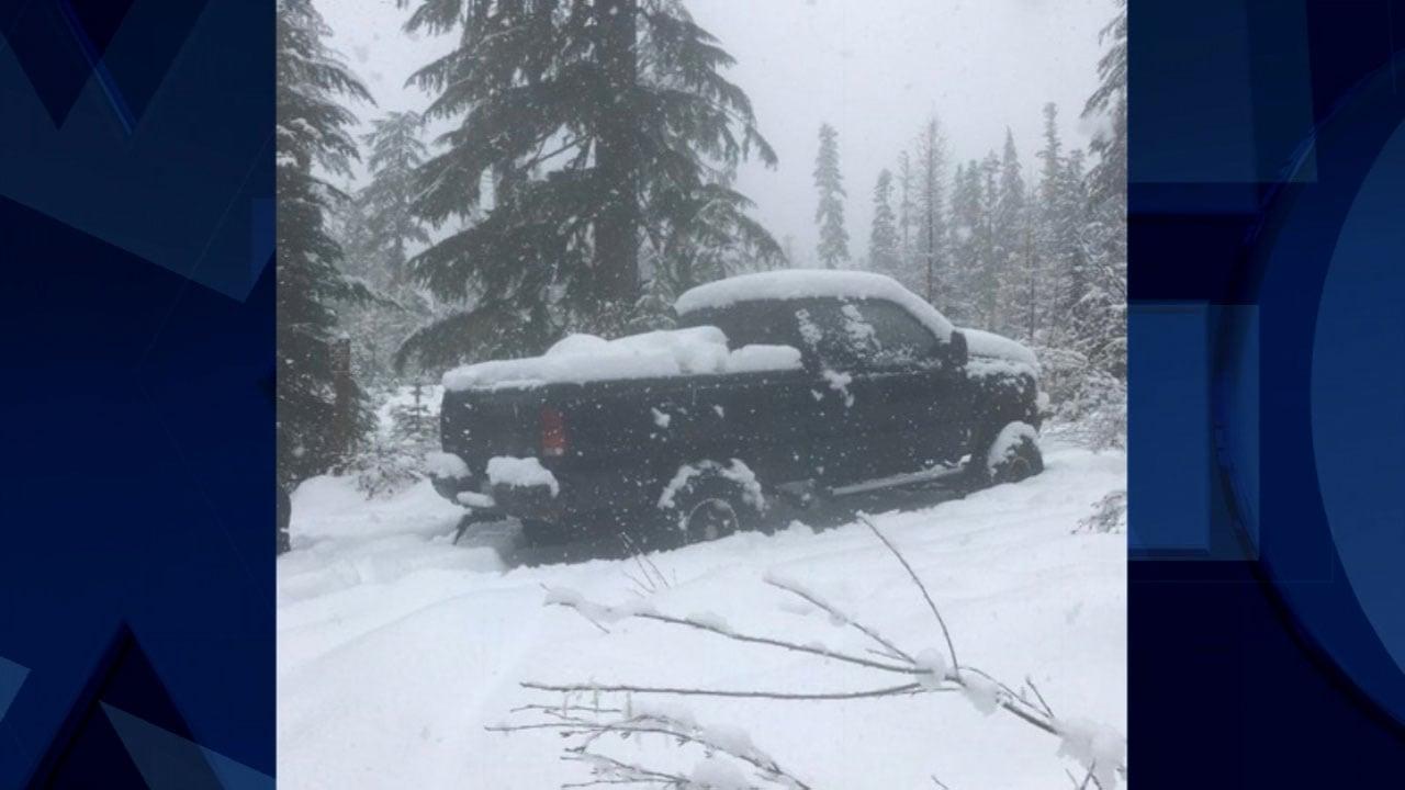 Missing elk hunter Joel Presler's pickup truck. (Photo: Skamania County Sheriff's Office)