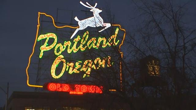 Iconic 'Portland Oregon' sign at center of trademark spat
