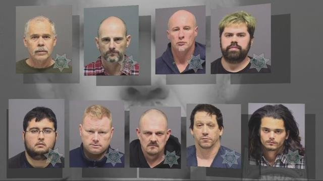 Sheriff: Underage sex sting leads to arrests of nine men in Clackamas County
