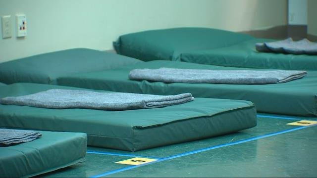 New temporary shelter for homeless men opens in downtown Portland