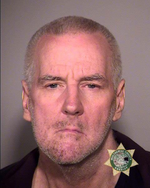 Dennis Davis booking photo (Multnomah Co. Jail)