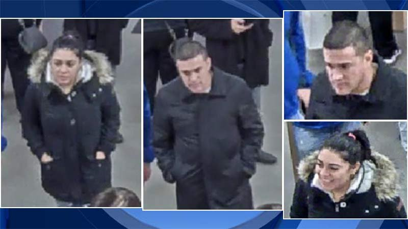 Surveillance images of theft suspects released by Tualatin Police Department.