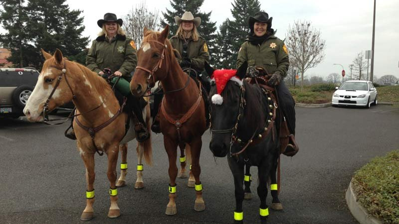 Photo: Clackamas County Sheriff's Office Posse