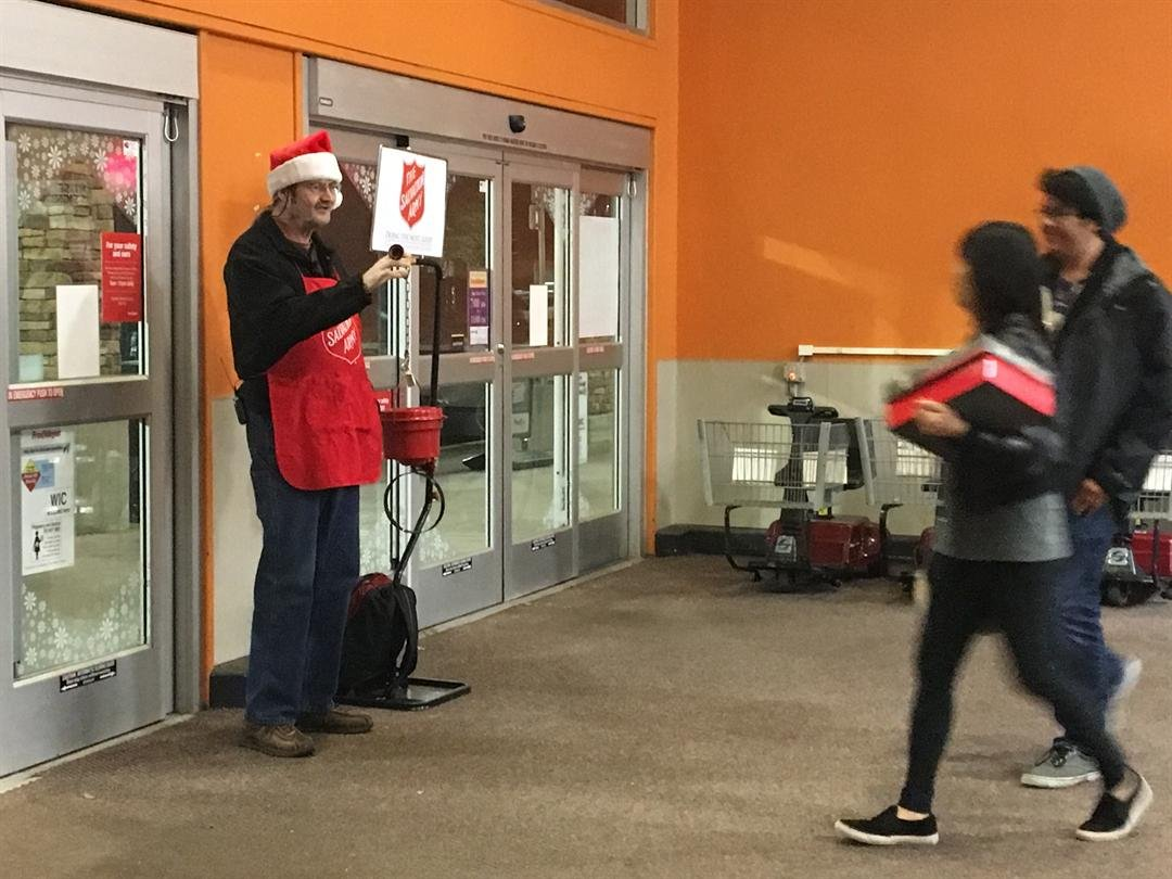 Salvation Army bells ring in holiday season