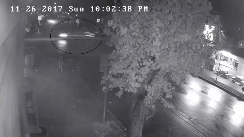 Surveillance image of hit-and-run driver in north Portland. (Portland Police Bureau/KPTV)