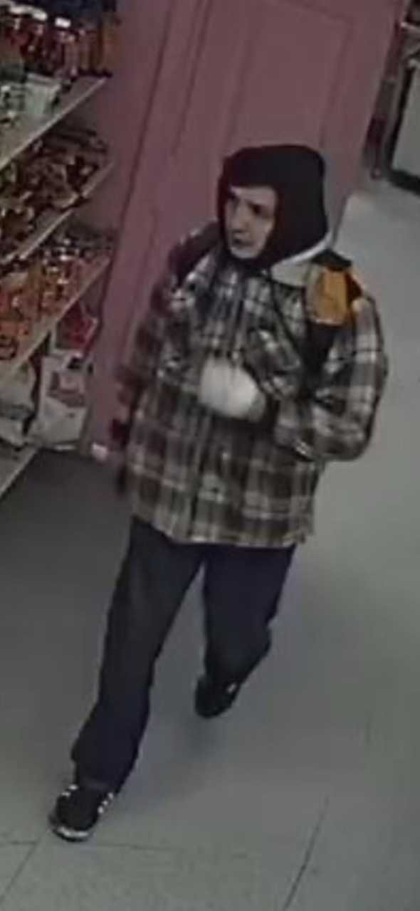 Surveillance image of Salem business burglary suspect. (KPTV)