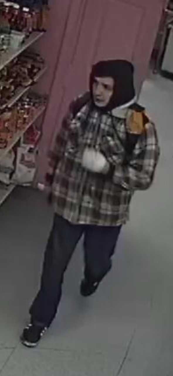 Surveillance image of Salem business burglary suspect. (KPTV)