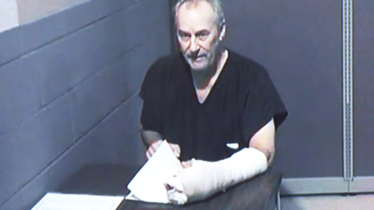 Richard Mershon in court Tuesday. (KPTV)