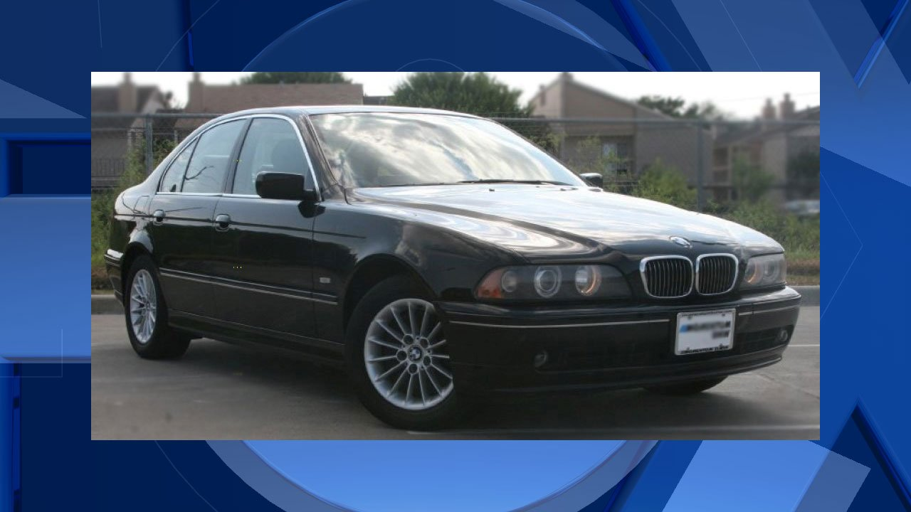 Investigators believe the vehicle involved in a deadly hit-and-run on North Fessenden Street Sunday was a dark-colored, possibly black, 2000-2003 BMW 525i, similar to the one seen here. (Portland Police Bureau)