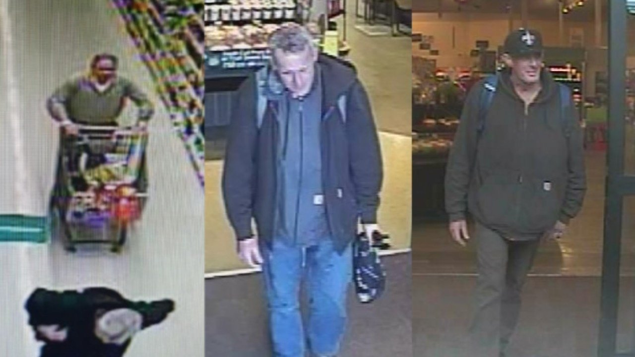 Surveillance images of Robert Bagby (KPTV)