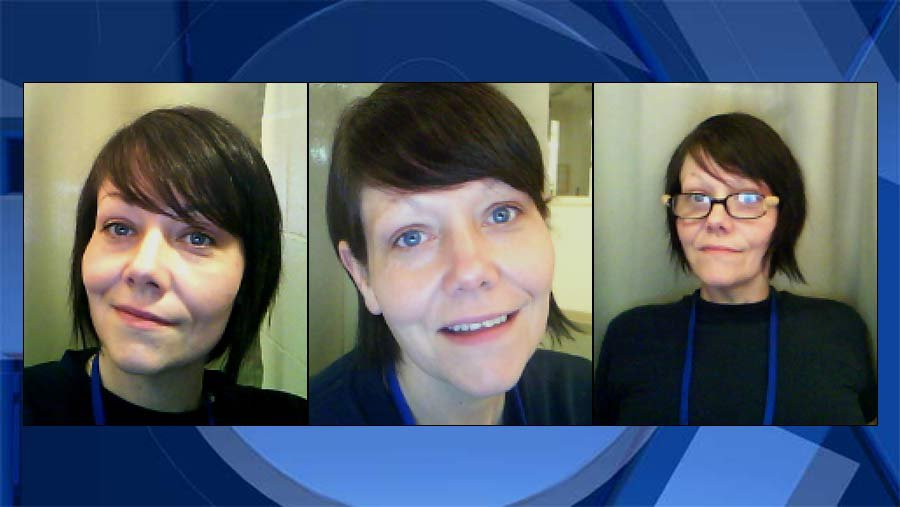 Lorrie Marie Hocker, images from the Oregon Department of Corrections.