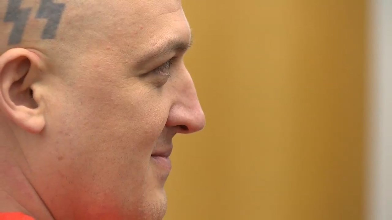 Brent Luyster in court Monday (KPTV)