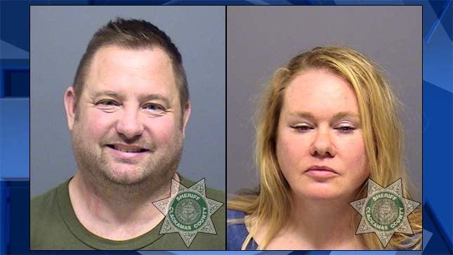 Jack Allen Dunn and Rosemarie Hildegard Henley, jail booking photo
