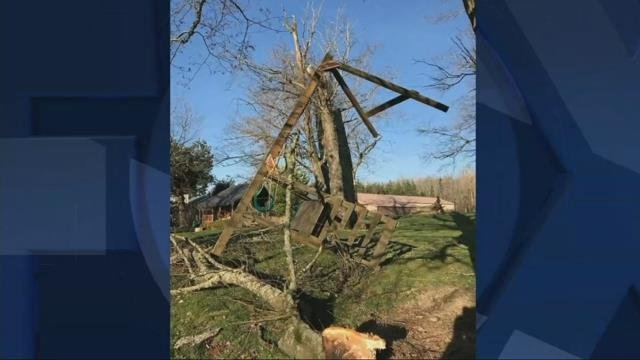 High winds cause power outages in eastern Multnomah County