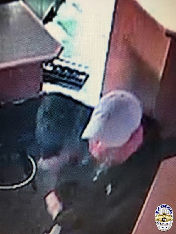 Security camera footage of the second suspect in a robbery at the Good Times Grill early in the morning of Monday, December 11, 2017. (Keizer Police Dept.)