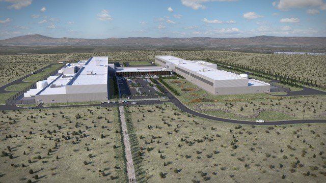 Rendering of new Facebook data center expansion near Prineville (image courtesy of Facebook)