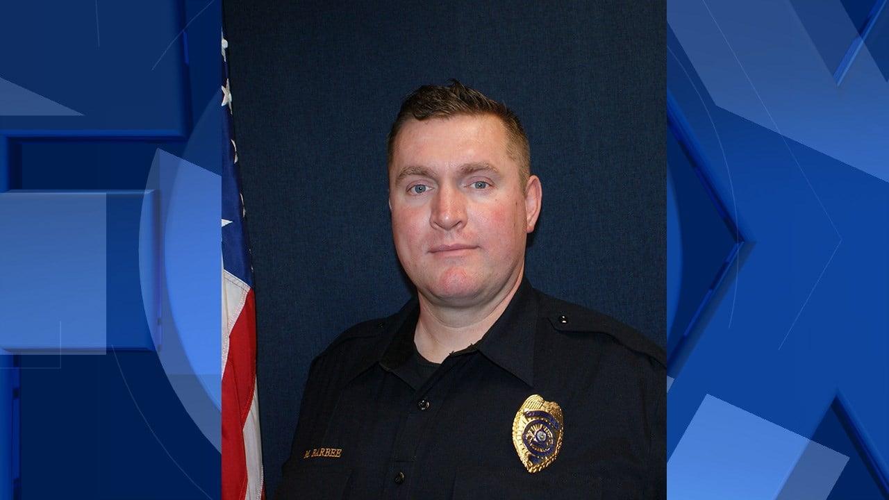 Matthew Barbee, courtesy Tigard Police Department