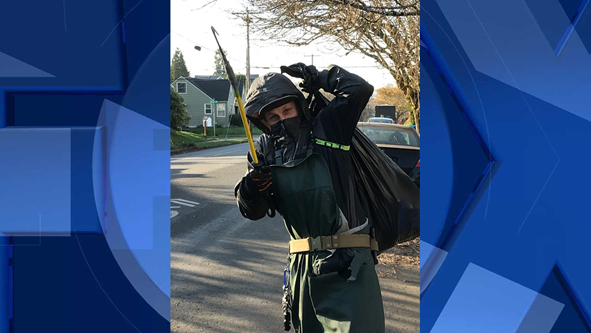 Police: Thief swings metal hook at homeowner when caught stealing packages